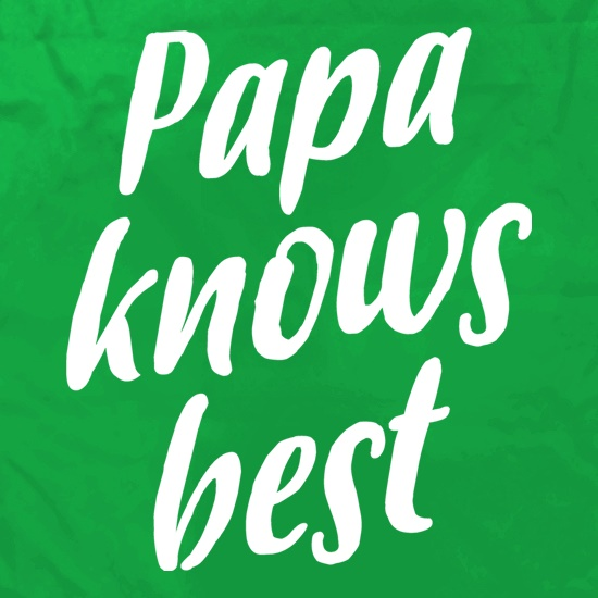 Papa Knows Best Apron