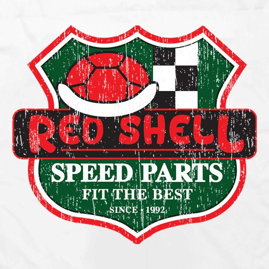Red Shell Parts Apron