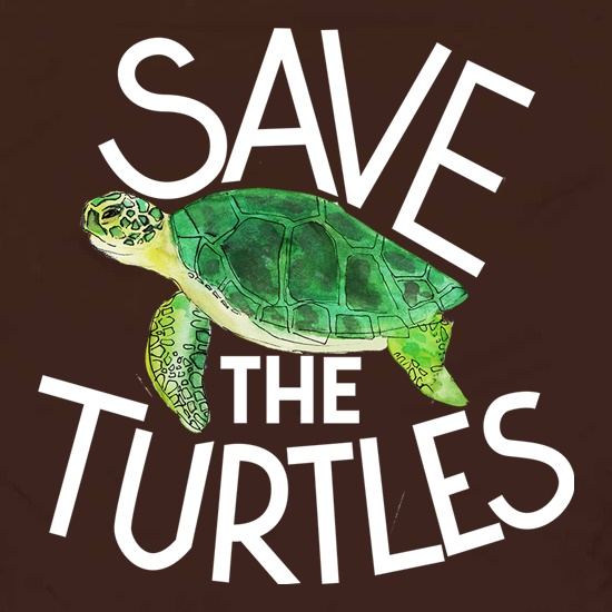 Save The Turtles Apron