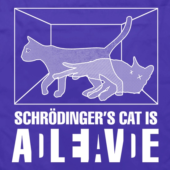 Schrodinger's Cat Box Apron