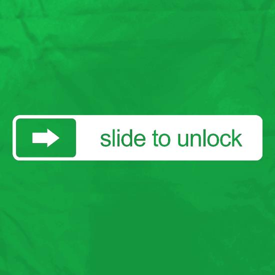 Slide To Unlock Apron