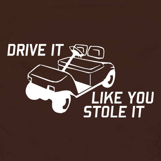 Drive it Like you Stole it Apron