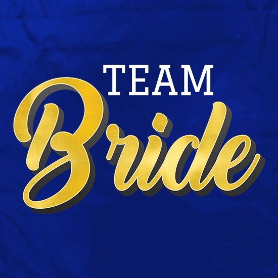 Team Bride Apron