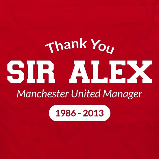 Thank You Sir Alex Apron