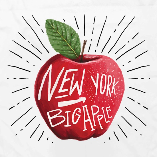 The Big Apple Apron