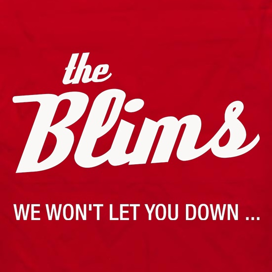 The Blims We Won't Let You Down Apron