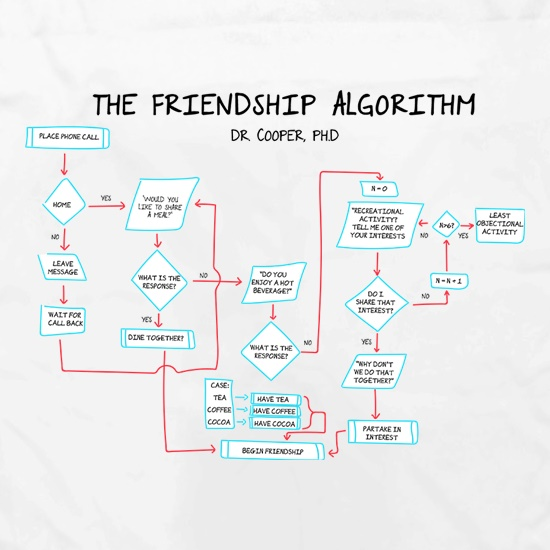The Friendship Algorithm Apron