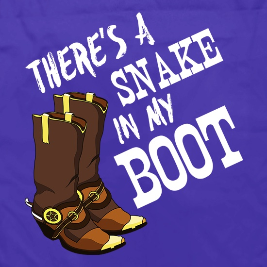 There's A Snake In My Boot Apron