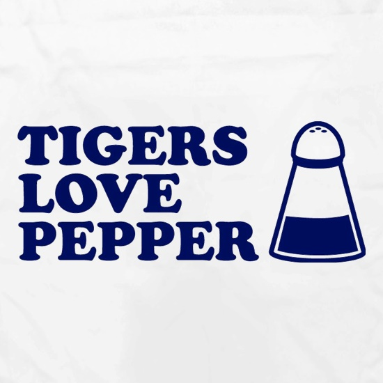 Tigers Love Pepper Apron