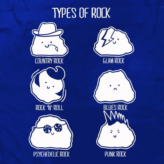 Types Of Rock Apron