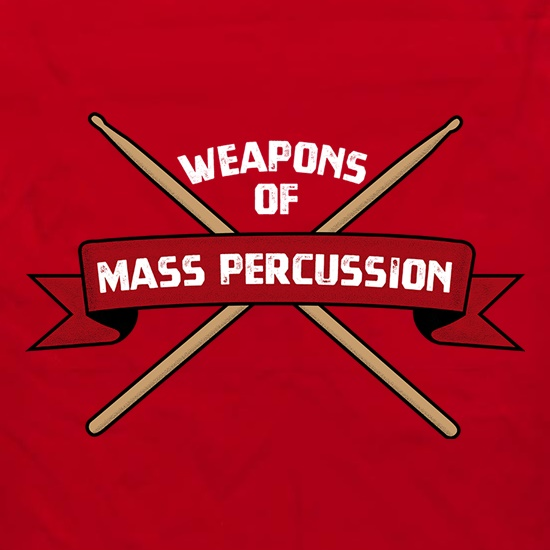 Weapons Of Mass Percussion Apron