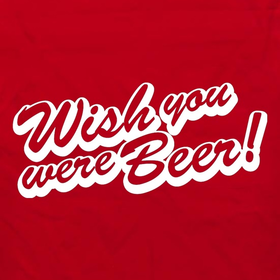 Wish You Were Beer Apron