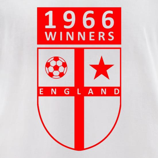 1966 Winners t-shirts for ladies