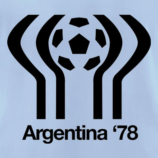 1978 World Cup Argentina t-shirts for ladies