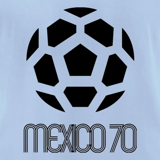 1970 World Cup Mexico t-shirts for ladies