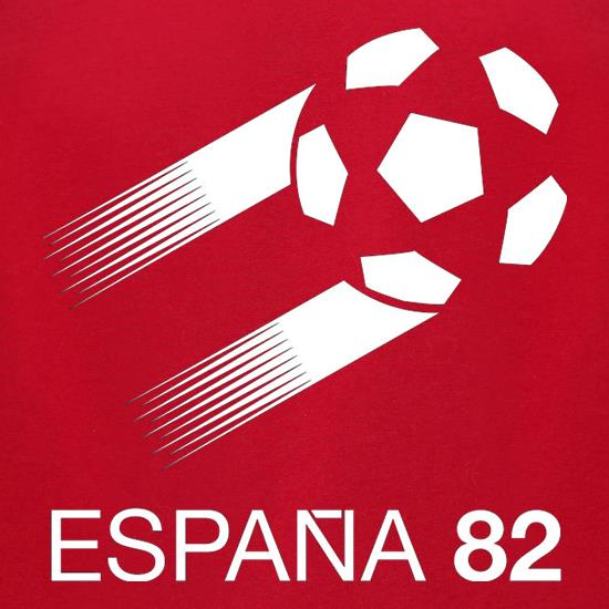1982 World Cup Espana t-shirts for ladies