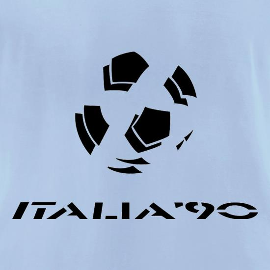 1990 World Cup Italia t-shirts for ladies