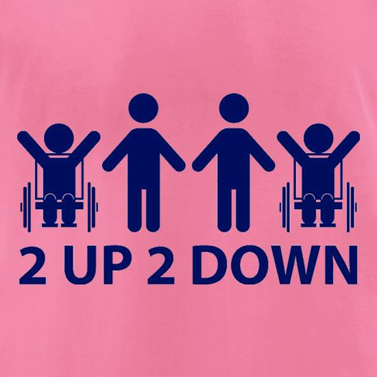 2 Up 2 Down t-shirts for ladies