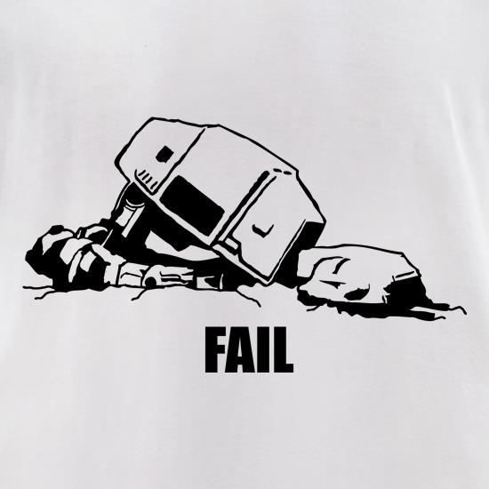 ATAT Fail t-shirts for ladies