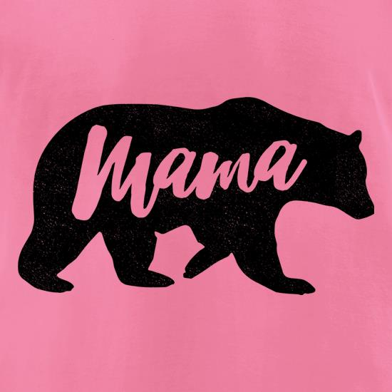 Bear Mama t-shirts for ladies