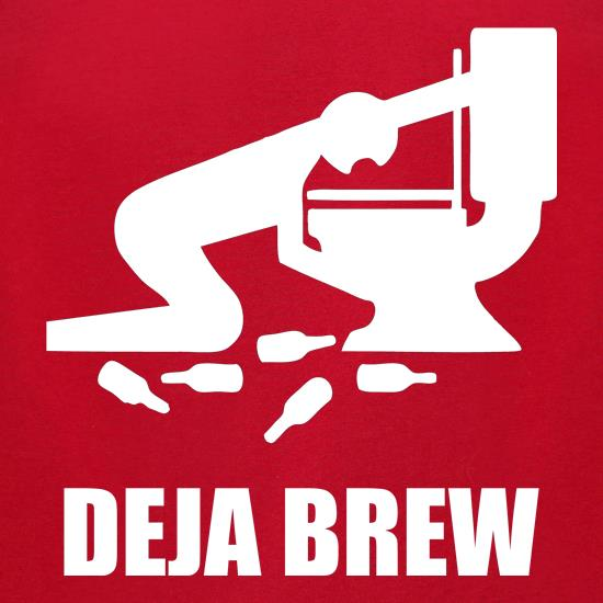 Deja Brew t-shirts for ladies