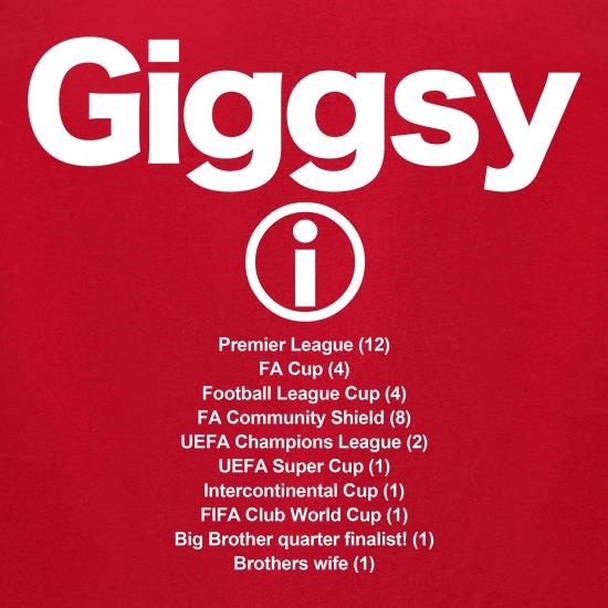 Giggsy t-shirts for ladies