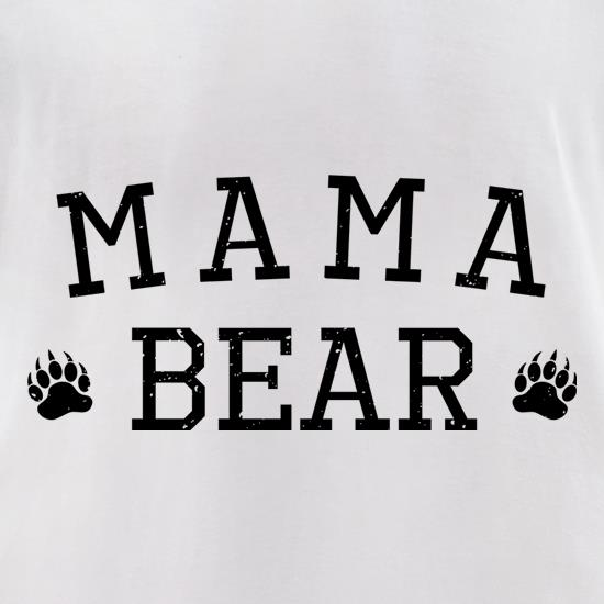 MamaBear t-shirts for ladies