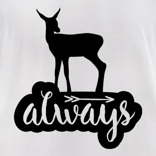 Always Deer t-shirts for ladies