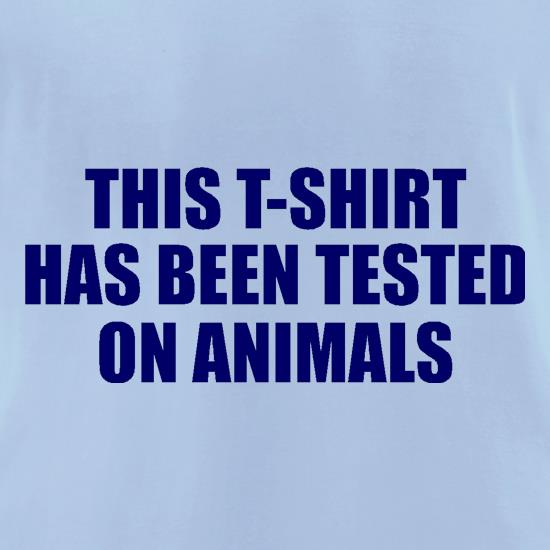 This t-shirt has been tested on Animals t-shirts for ladies
