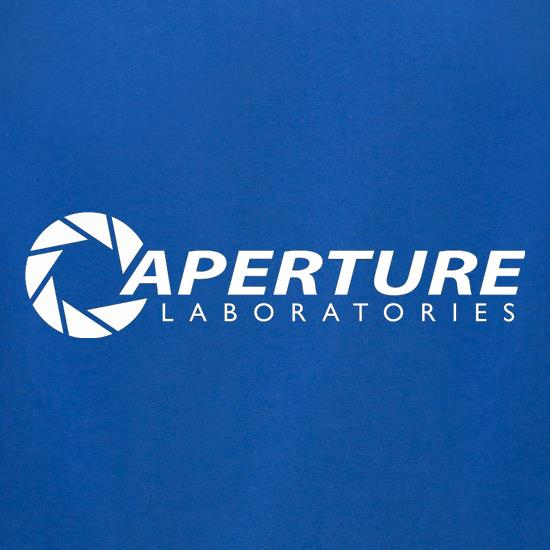 Aperture Laboratories t-shirts for ladies