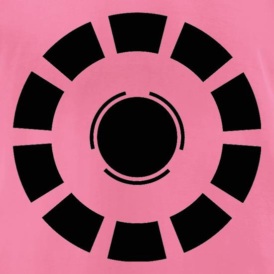 Arc Reactor Iron Man t-shirts for ladies
