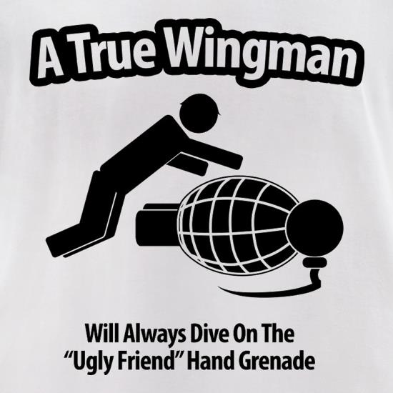 A True Wingman t-shirts for ladies