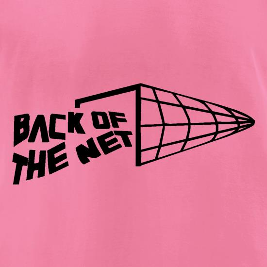 Back of the net t-shirts for ladies