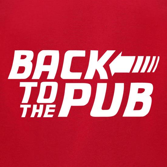 Back To The Pub t-shirts for ladies
