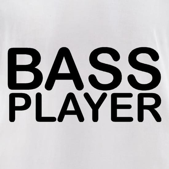 Bass player t-shirts for ladies