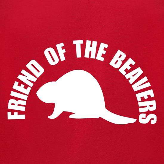 Friend of the Beavers t-shirts for ladies