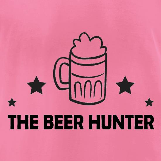 The Beer Hunter t-shirts for ladies