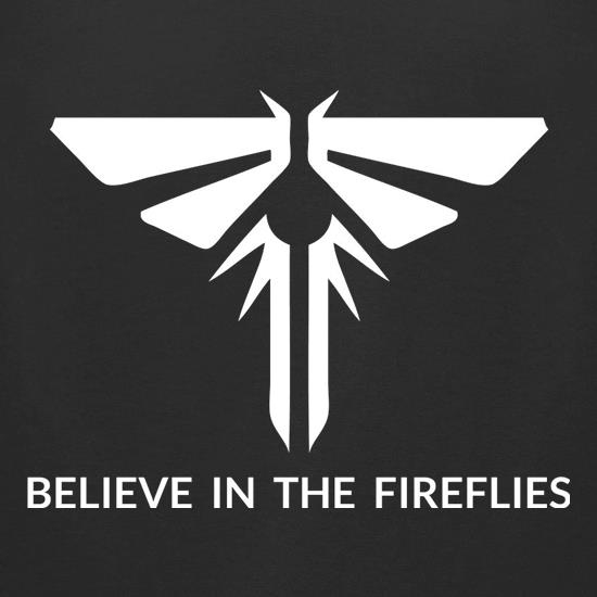 Believe In The Fireflies t-shirts for ladies