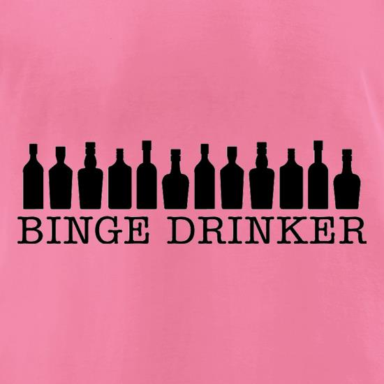 Binge Drinker t-shirts for ladies