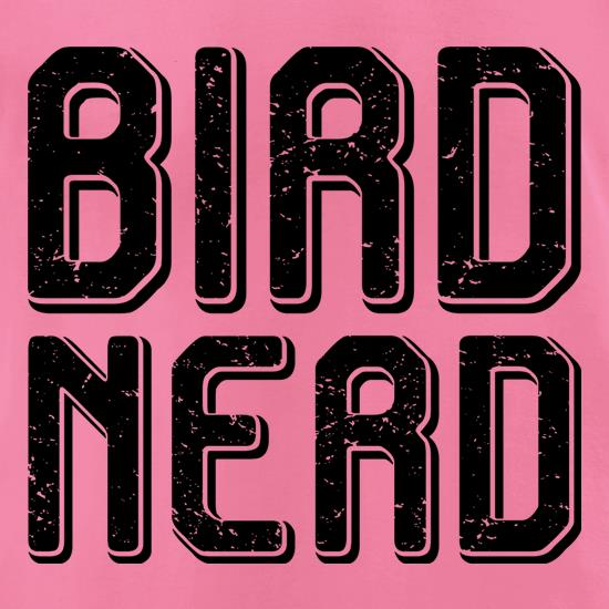 Bird Nerd t-shirts for ladies