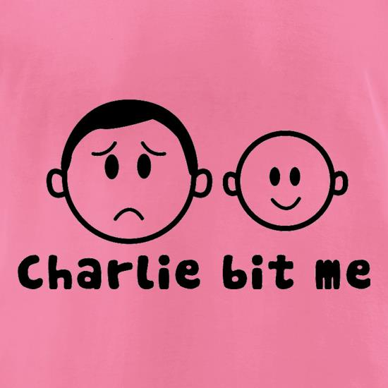 Charlie Bit Me t-shirts for ladies