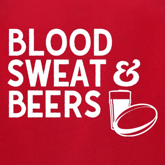 Blood, Sweat & Beers t-shirts for ladies