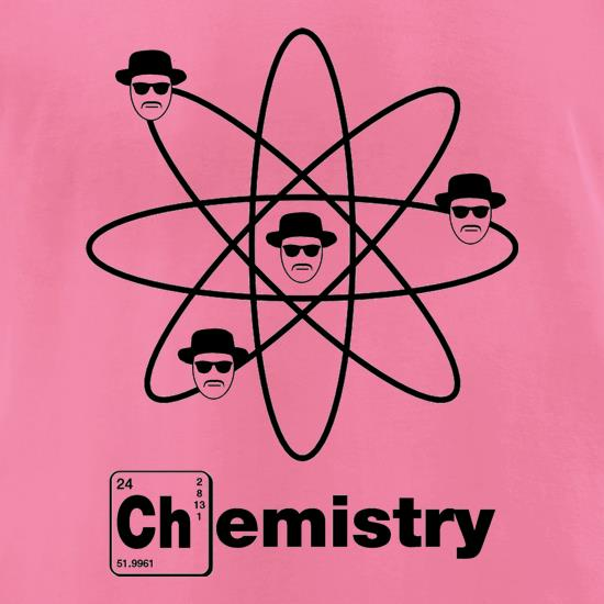 Breaking Bad - Chemistry t-shirts for ladies