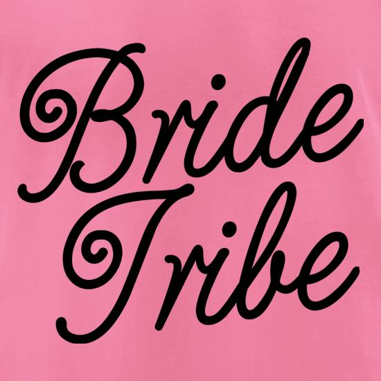 Bride Tribe t-shirts for ladies