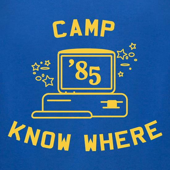 Camp Know Where t-shirts for ladies