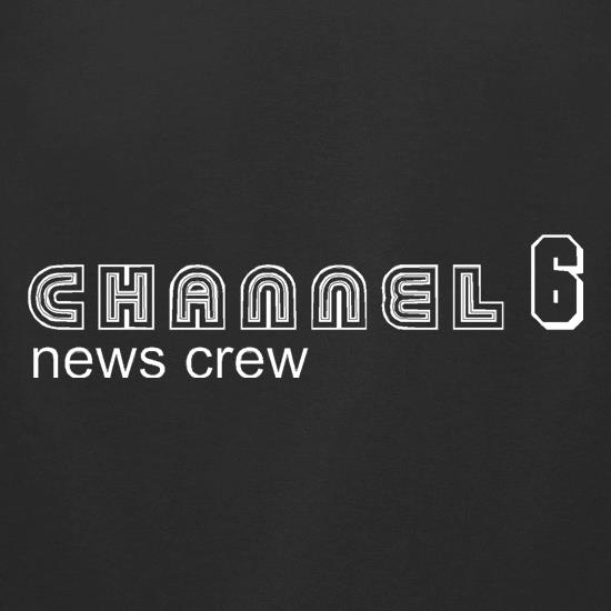 Channel6 news crew t-shirts for ladies