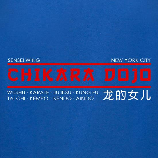 Chikara Dojo t-shirts for ladies