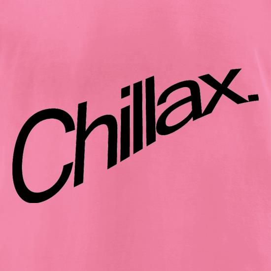 Chillax t-shirts for ladies