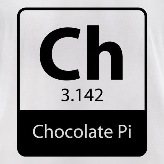Chocolate Pi t-shirts for ladies