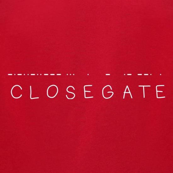 Close Gate t-shirts for ladies